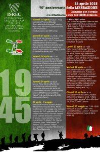 Riepilogo iniziative ISREC 70° Anniversario